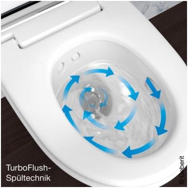 Išmanusis pakabinamas WC Geberit AquaClean Mera Comfort 4
