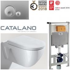 Potinkinis WC komplektas Catalano Sfera Eco