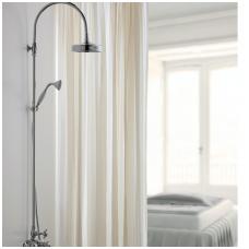 Maišytuvas voniai su galvos dušu ir rankiniu dušeliu Cristina