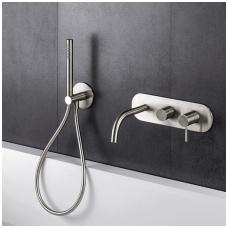 Potinkinis vonios/dušo maišytuvas su rankiniu dušu