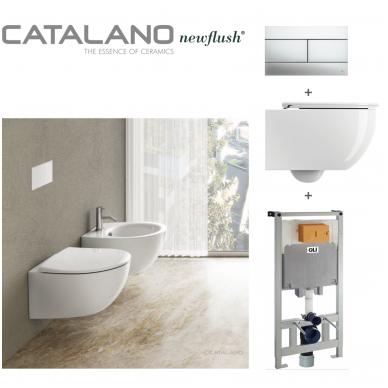 Potinkinis WC komplektas Catalano Italy