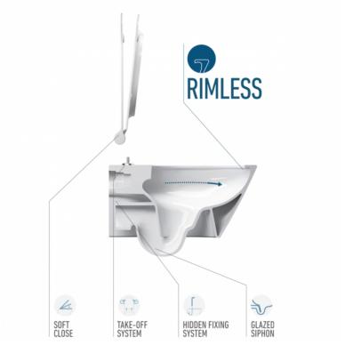 Potinkinis WC komplektas Catalano Italy 5