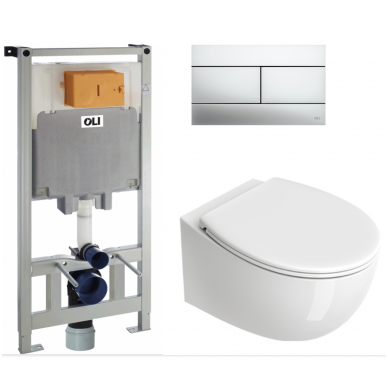 Potinkinis WC komplektas Catalano Italy 2