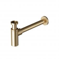 Praustuvo sifonas Šlifuotas šviesus auksas (brushed light gold) SFGD330