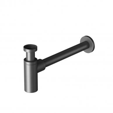 Praustuvo sifonas Šlifuotas Juodas chromas (brushed Gun metal) SFGM330